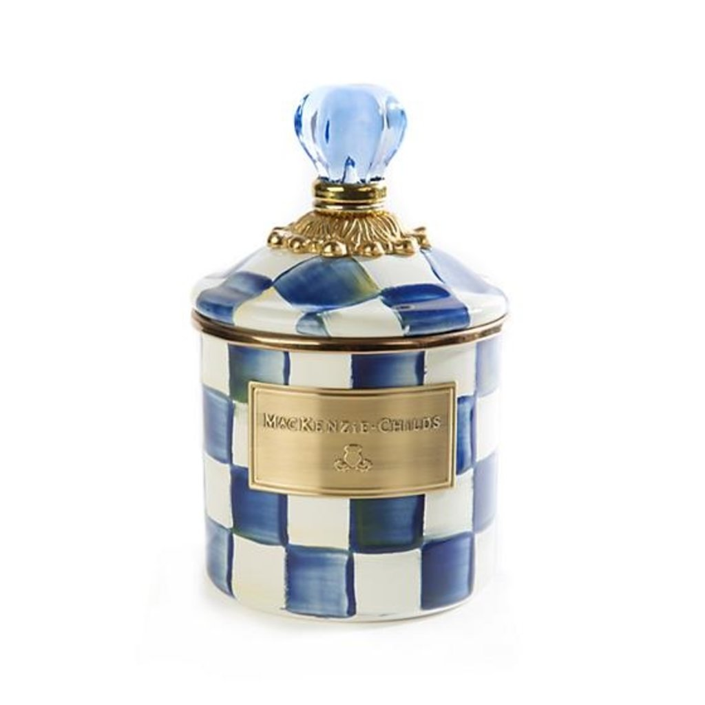 MacKenzie-Childs Royal Check Canister - Demi