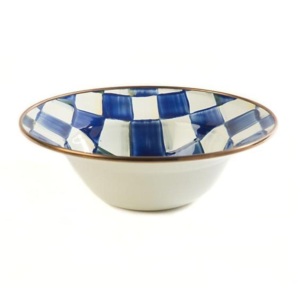 MacKenzie-Childs Royal Check Breakfast Bowl