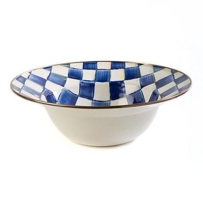 MacKenzie-Childs Royal Check Serving Bowl