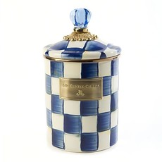 MacKenzie-Childs Royal Check Canister - Medium