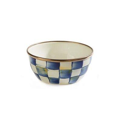 MacKenzie-Childs Royal Check Pinch Bowl