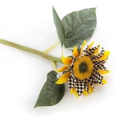 MacKenzie-Childs Courtly Check Sunflower - Yellow