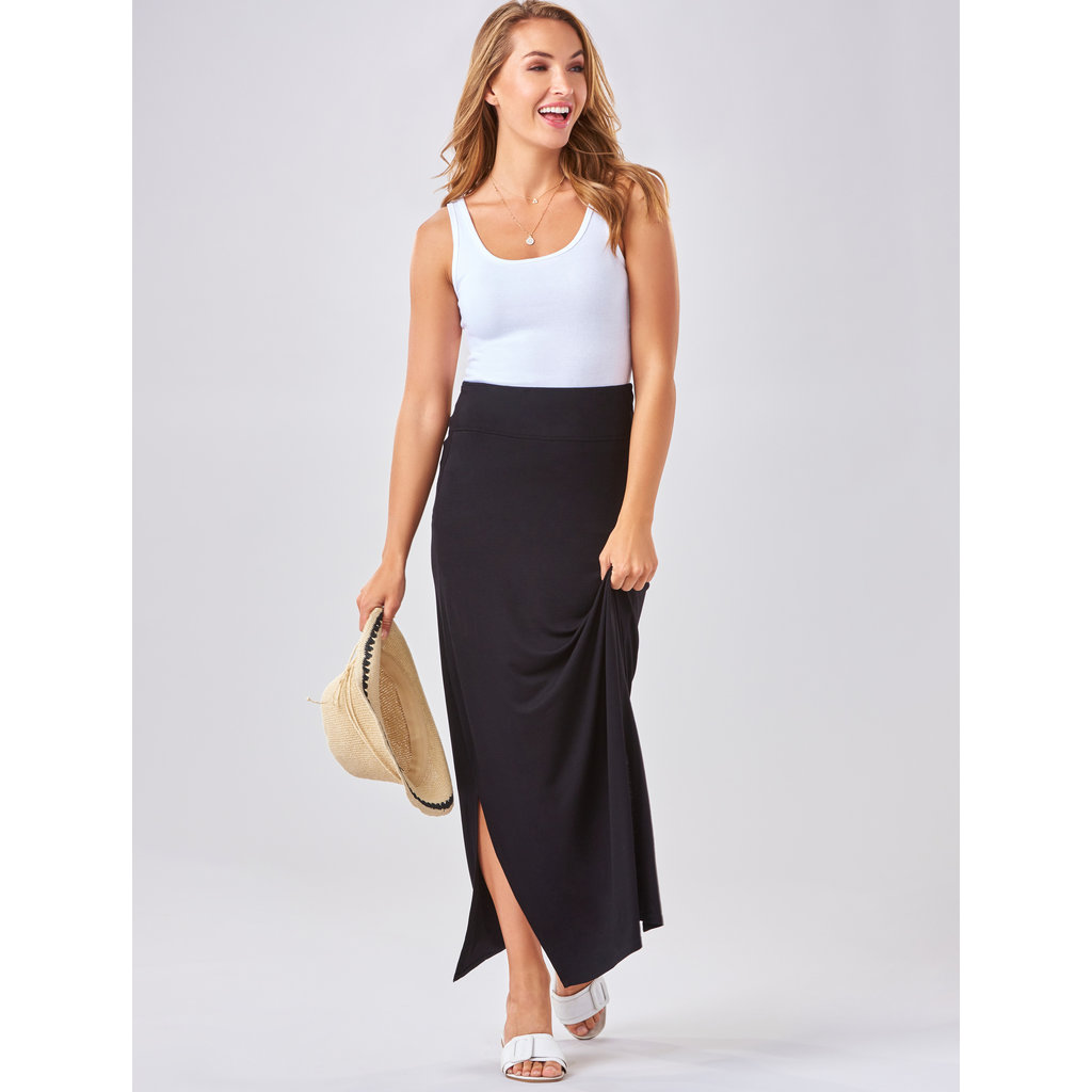 Bee Boutique Black Maxi Skirt