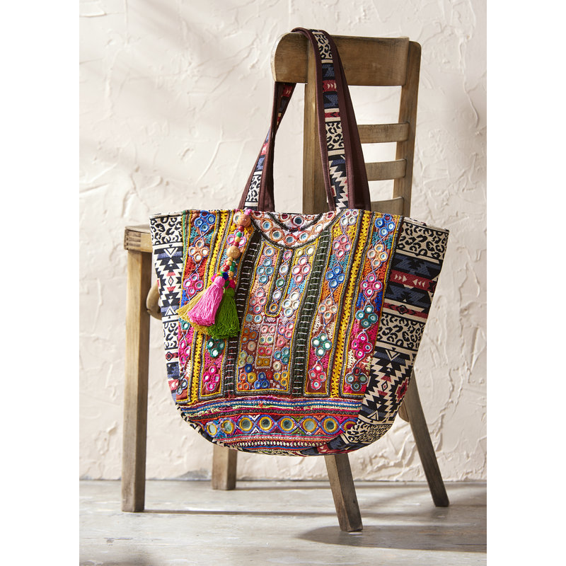 Bee Boutique Colorful Esmi Tote