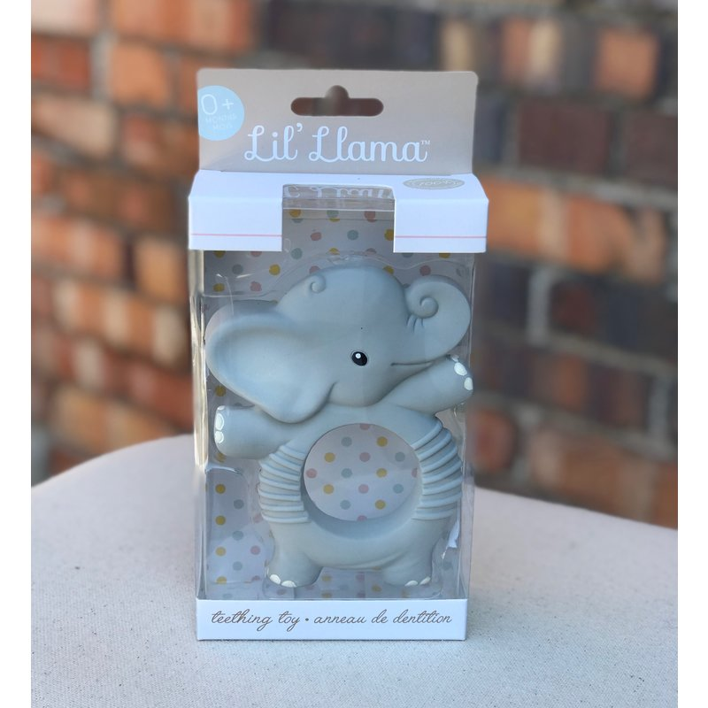 Little Bees Elephant Teething Ring