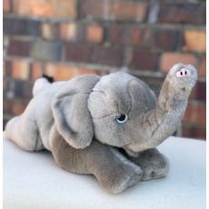 Little Bees Grey Elephant Plush