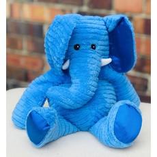 Little Bees Large Blue Elephant Warmie