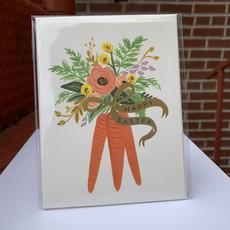 Rifle Paper Co. Carrot Bouquet Card