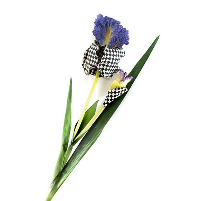 MacKenzie-Childs Courtly Check Iris - Purple
