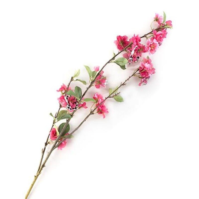 MacKenzie-Childs Courtly Check Cherry Blossom Spray - Pink