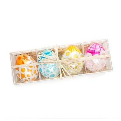 MacKenzie-Childs Unorthodot Eggs - Set of 4