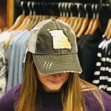 Southbank's Missouri Cutout Map Hat