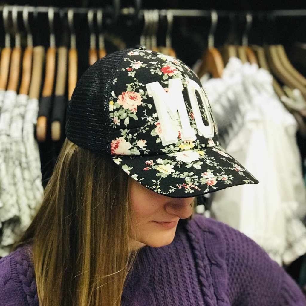 Southbank's MO Floral Trucker Hat