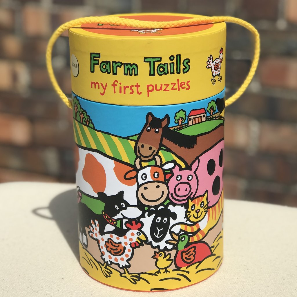 Little Bees Farm Tails My First Puzzles
