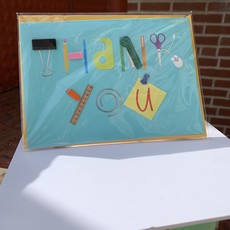 Papyrus Office Supply Thank You Card