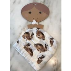 Little Bees Bunny - Mini Lovey