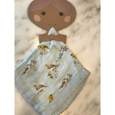 Little Bees Blue Bird - Mini Lovey