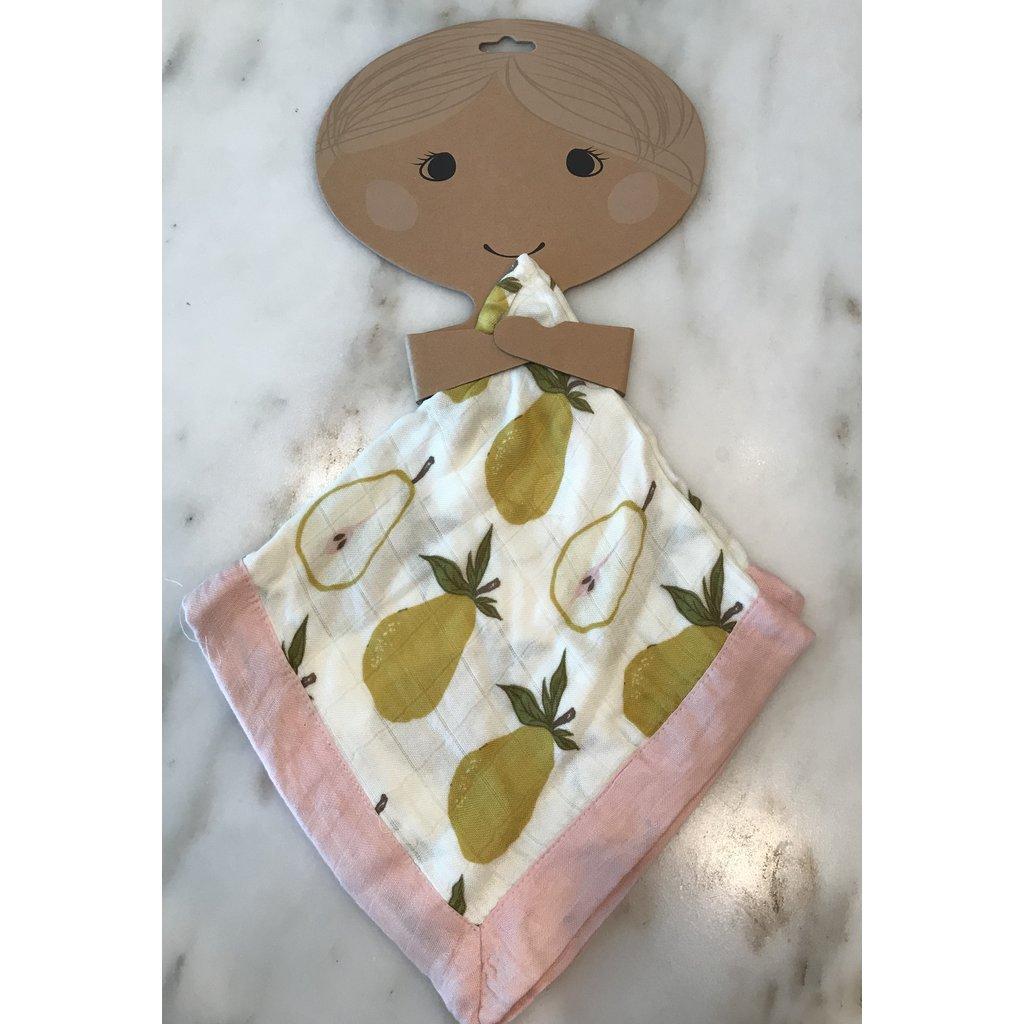 Little Bees Pear - Mini Lovey