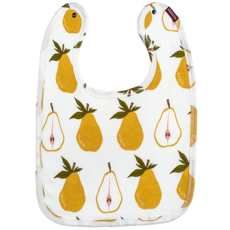 Little Bees Pear - Traditional Bib