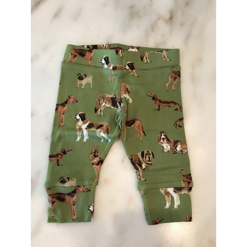 Little Bees Green Dog - Legging