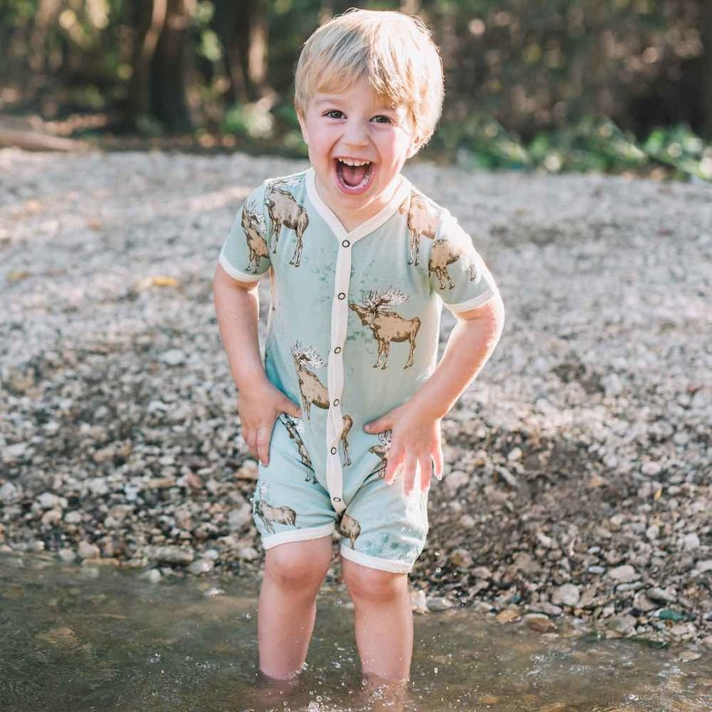 Little Bees Blue Buck - Shortall
