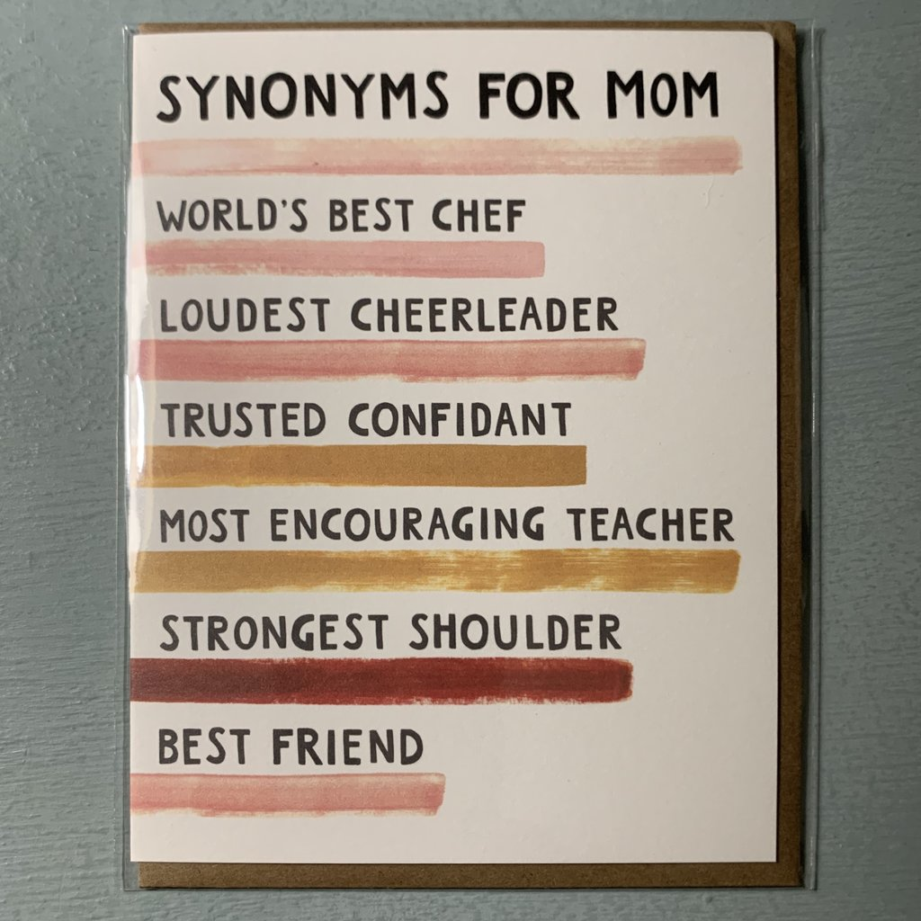 Southbank's Synonyms For Mom Card