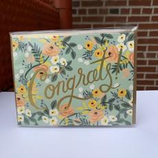 Rifle Paper Co. Blue Meadow Congrats Card