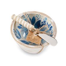 Southbank's Blue Floral Bouquet Dip Bowl Set