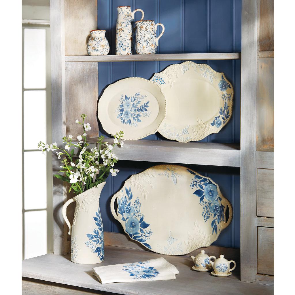 Southbank's Blue Roses Cottage Pitcher