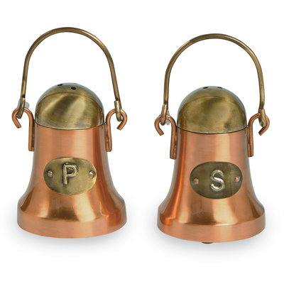 Southbank's Copper Salt & Pepper Shakers