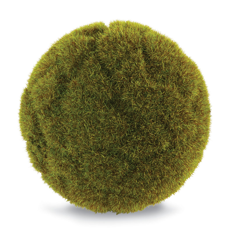 Southbank's Faux Forest Moss Ball