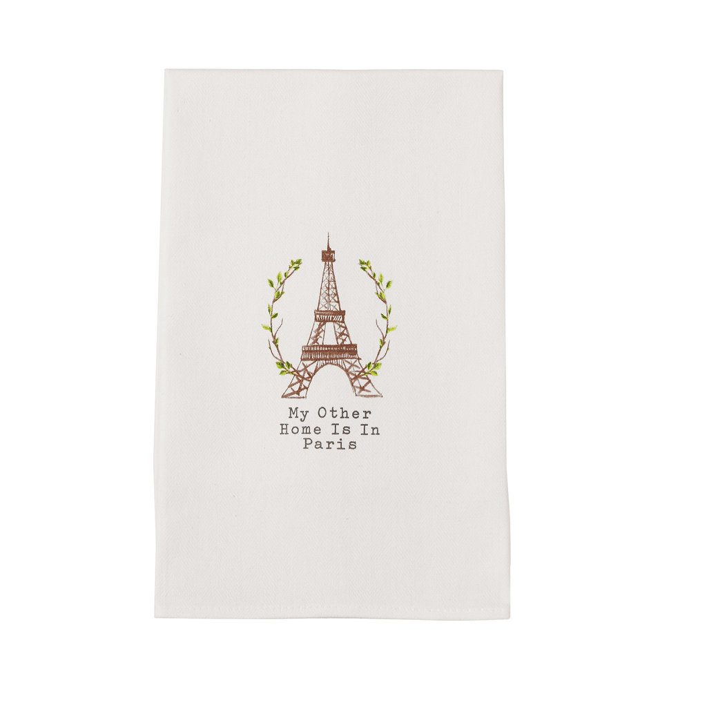 Southbank's My Other Home is in Paris Towel