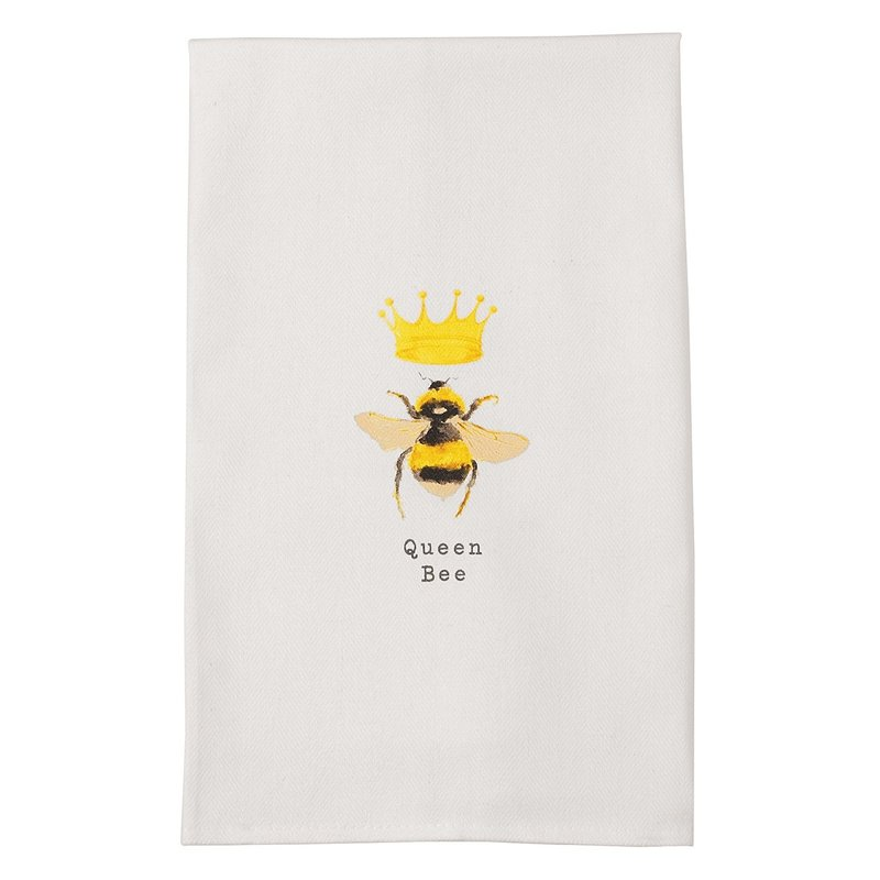 Southbank's Queen Bee Dish Towel