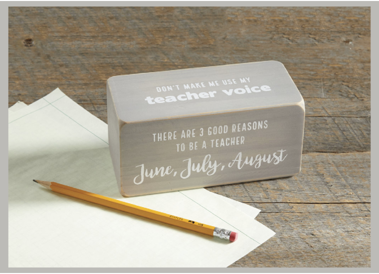 The Perfect Gift For A Teacher