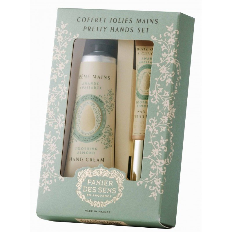 Panier des Sens en Provence Soothing Almond Pretty Hands Gift Set