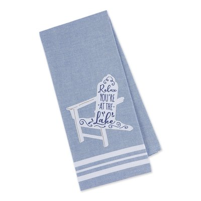 Southbank's Relax at the Lake Embellished Dishtowel