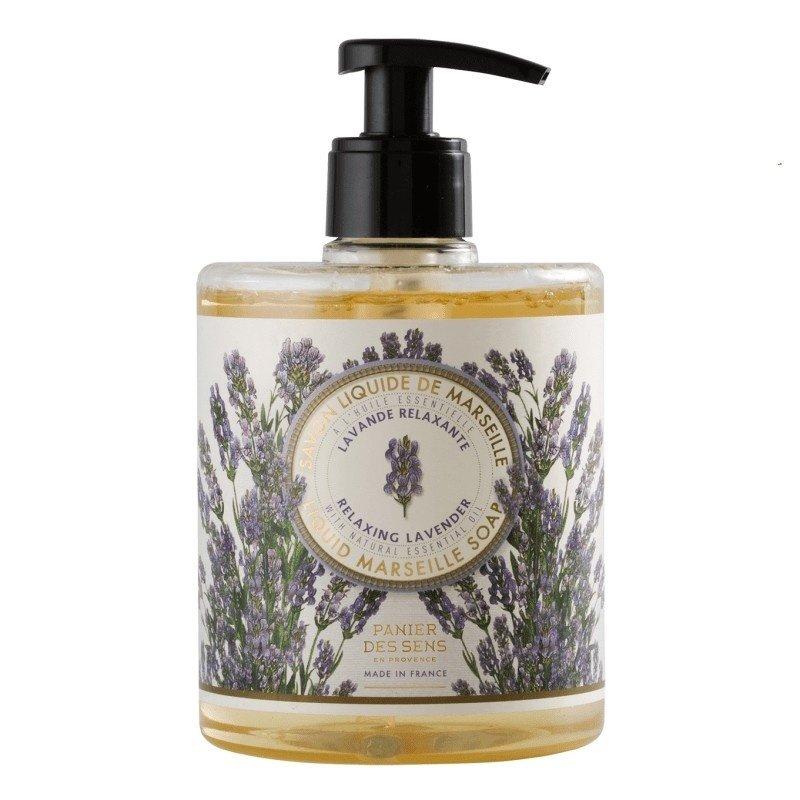 Panier des Sens en Provence Relaxing Lavender Liquid Marseille Soap