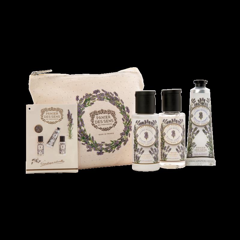 Panier des Sens en Provence Relaxing Lavender Travel Set