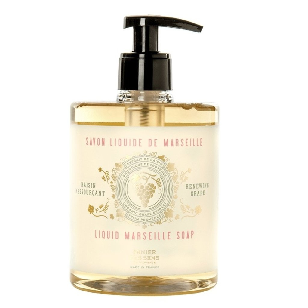 Panier des Sens en Provence Renewing Grape Liquid Marseille Soap