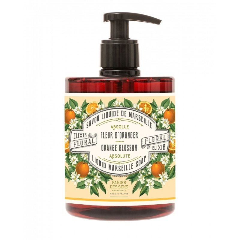 Panier des Sens en Provence Orange Blossom  Liquid Marseille Soap