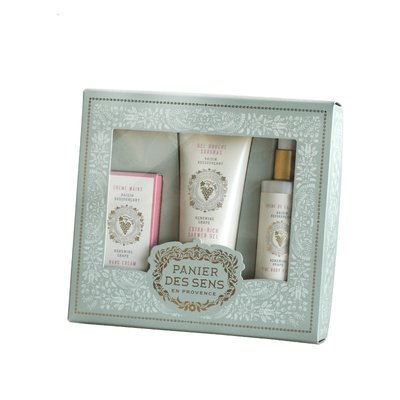 Panier des Sens en Provence Renewing Grape Body Care Gift Set