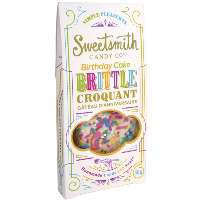 Southbank's Birthday Cake Brittle Croquant