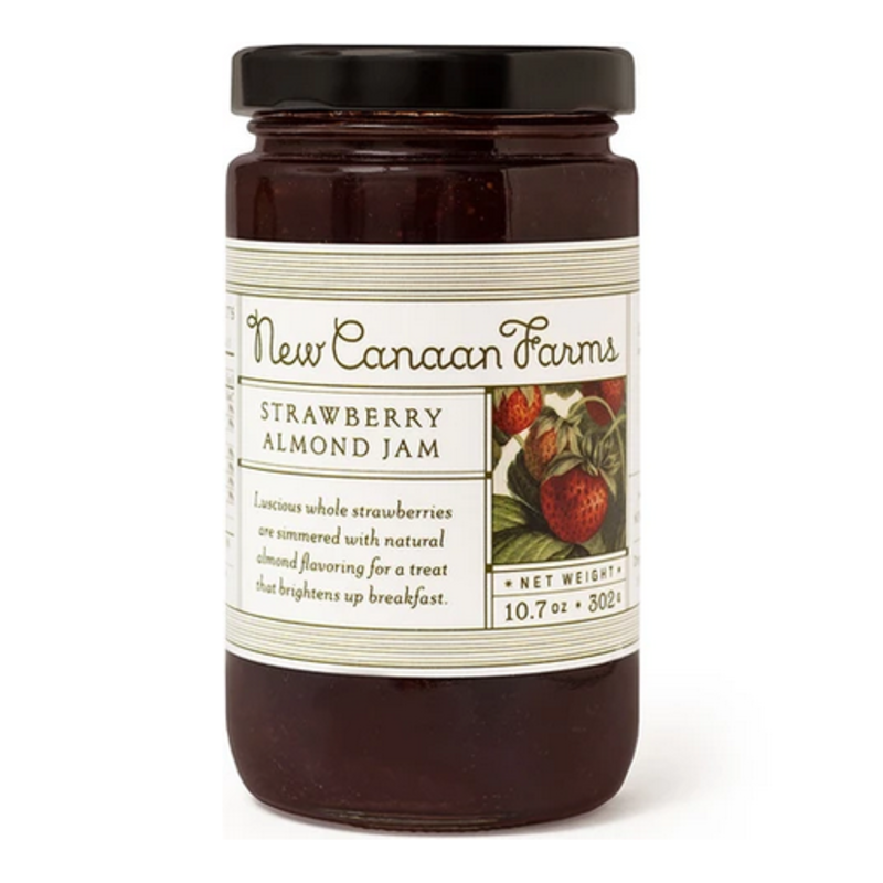 New Canaan Farms Strawberry Almond Jam