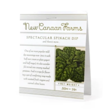 New Canaan Farms Spectacular Spinach Dip