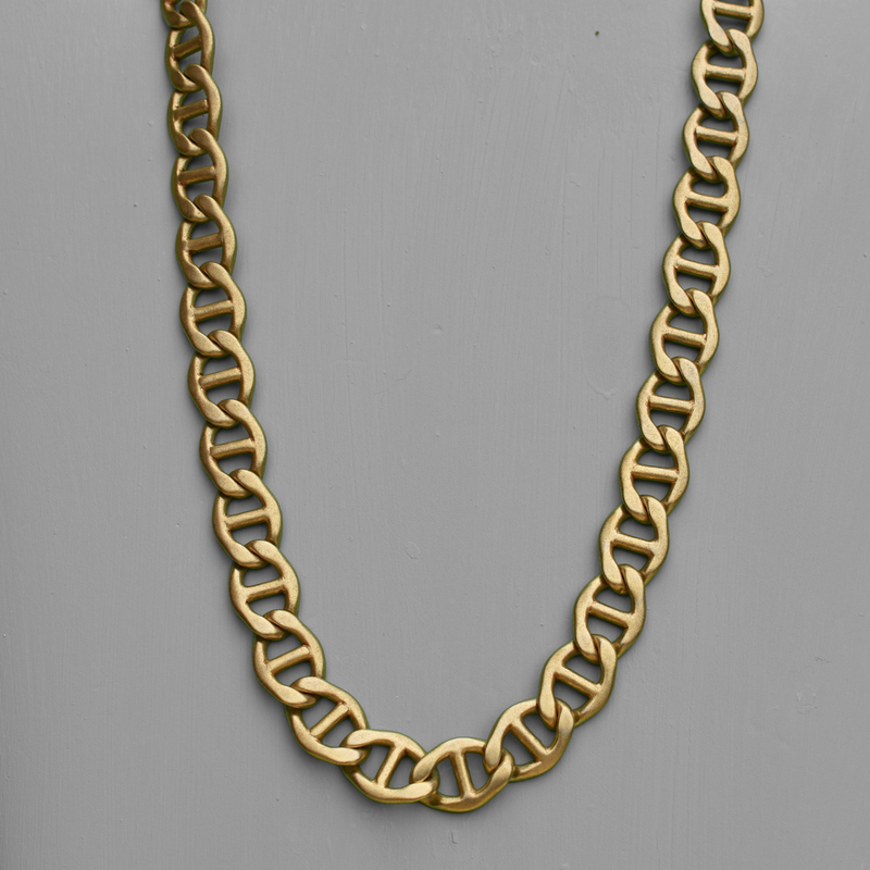 Yvette Gold Chain Necklace