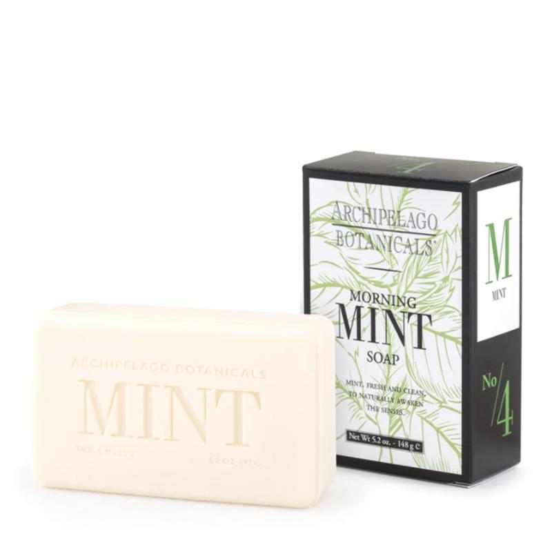 Archipelago Botanicals Morning Mint Bar Soap