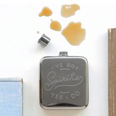 Southbank's I've Got Spirits Pocket Flask