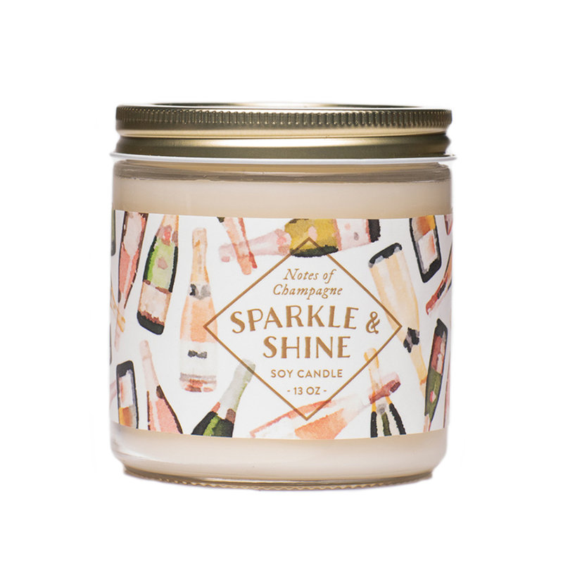 Southbank's Sparkle & Shine Soy Candle