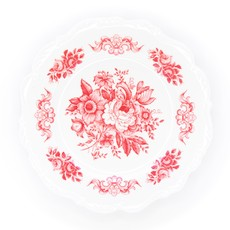 Southbank's Red Toile Melamine Plate