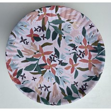 Southbank's Pink Floral Melamine Plate